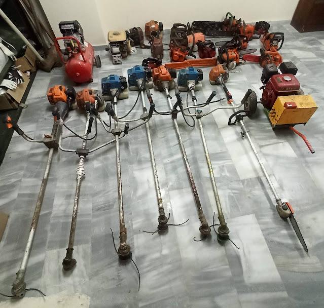 Η Αστυνομία στη Μεσσηνία ψάχνει τους κατόχους κλαπέντων γεωργικών μηχανημάτων