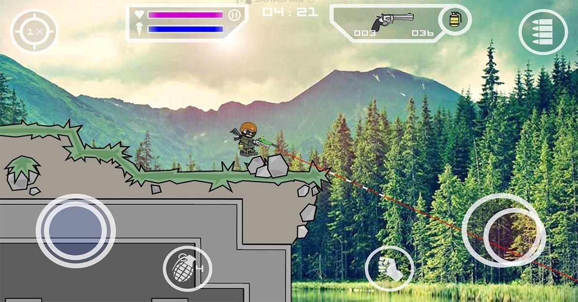 Download Doodle Army 2 : Mini Militia V4.2.8 (Mega Mod ...