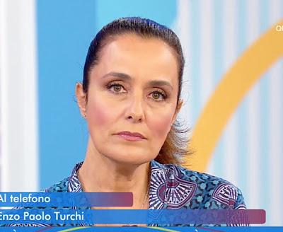Roberta Capua foto oggi viso triste Estate in Diretta