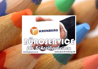 KRONBERG BüroService für manuelle Schreibarbeiten