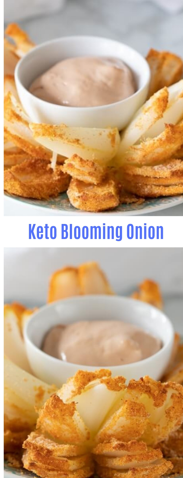 Keto Blooming Onion