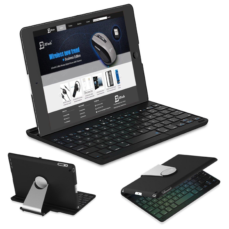 8631b208267 Get low price iPad Keyboard, JETech® Wireless Bluetooth Keyboard Case for  Apple iPad 2, iPad 3 or iPad 4