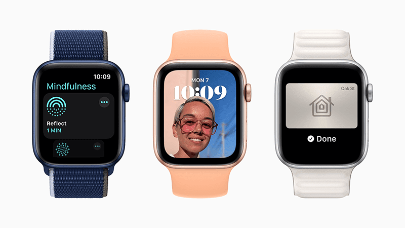 watchOS 8 showcases the Mindfulness app