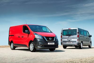 Παγκόσμιο ντεμπούτο για το νέο  Nissan NV300