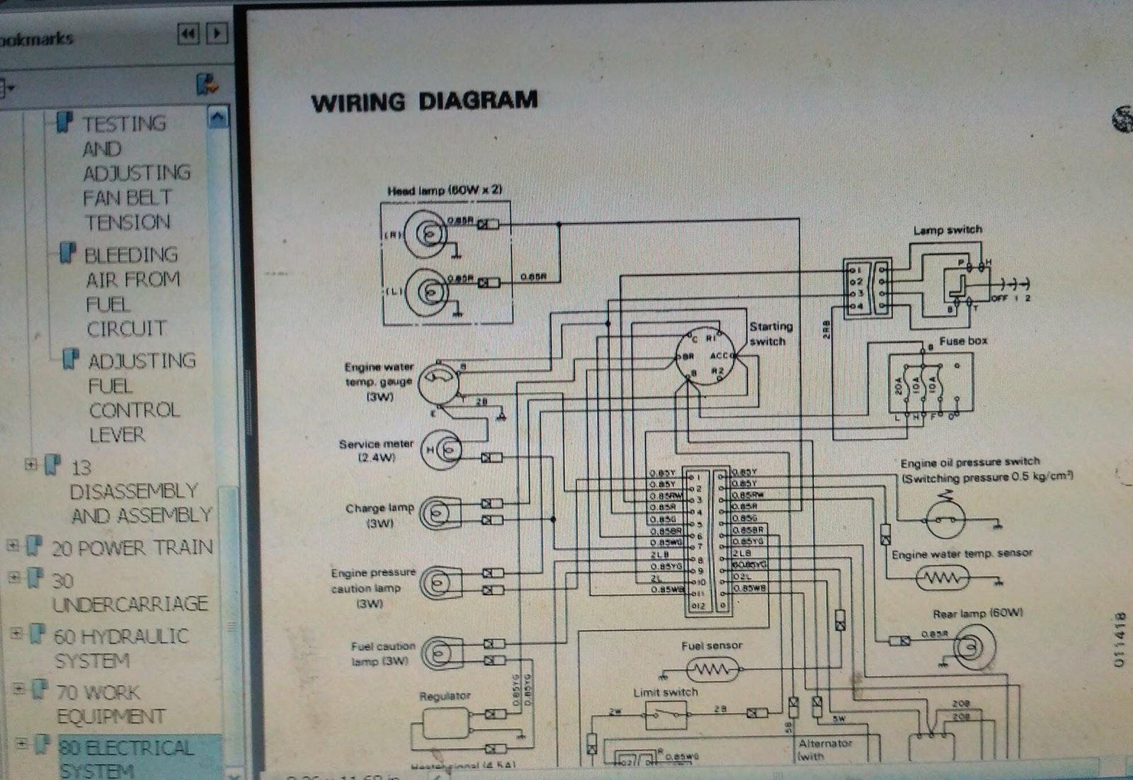 Komatsu D31p Wiring Diagram Wheel Loader Diagrams 18 Shop Manual Bulldozer Berita Book Kamatsu