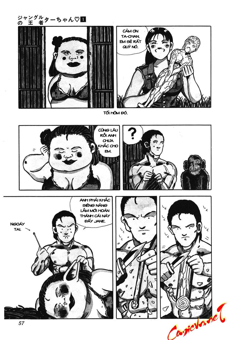 Chúa rừng Ta-chan chapter 7 trang 7