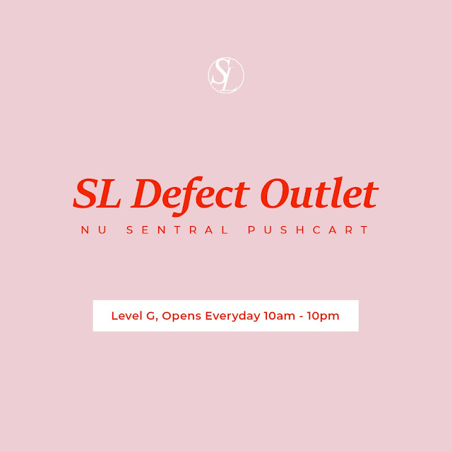 SL defect Outlet Nu Sentral Pushcart