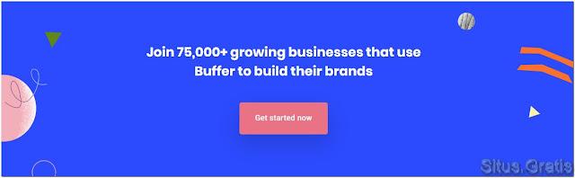 Buffer adalah tool manajemen media sosial yang dapat membantu Anda mengelola tweet Anda. Anda dapat menjadwalkan tweet Anda dan menganalisis kinerja setiap tweet