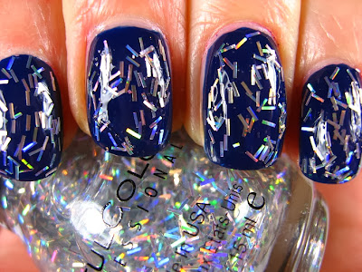Right On The Nail Sinful Colors Holiday 2013 Holiday Tinsel Collection Swatches Silver