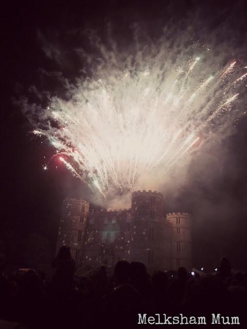 Fireworks finale at Camp Bestival 2013