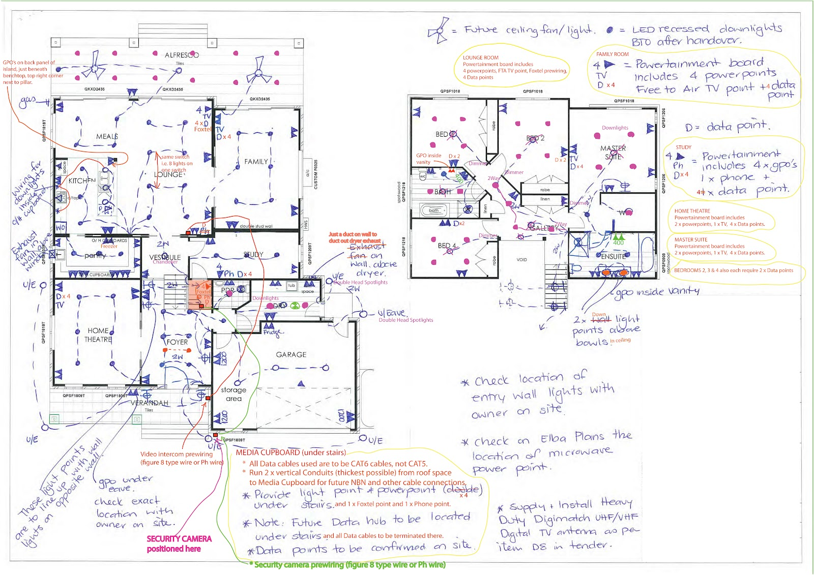 click to view larger image of electrical plan  [ 1600 x 1131 Pixel ]