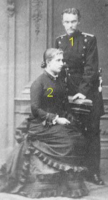 Bernhard III. Friedrich Wilhelm Albrecht Georg (* 1. April 1851 in Meiningen; † 16. Januar 1928  der letzte regierende Herzog von Sachsen-Meiningen Prinzessin Charlotte von Preußen