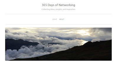 I recommend the 365 Days of Networking Blog to job seekers. [Shy Job Seeker Blog]