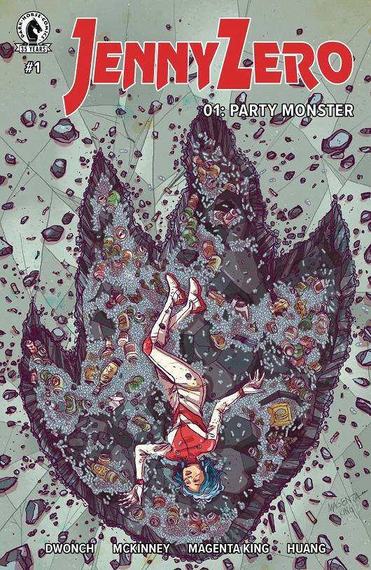 Cover of Jenny Zero #1