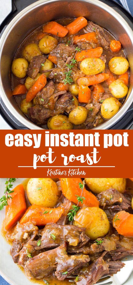 Delicious Instant Pot Pot Roast