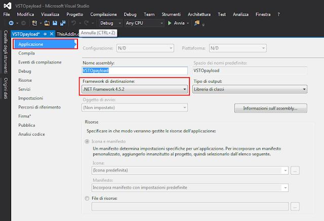 Visual Studio, Framework di destinazione