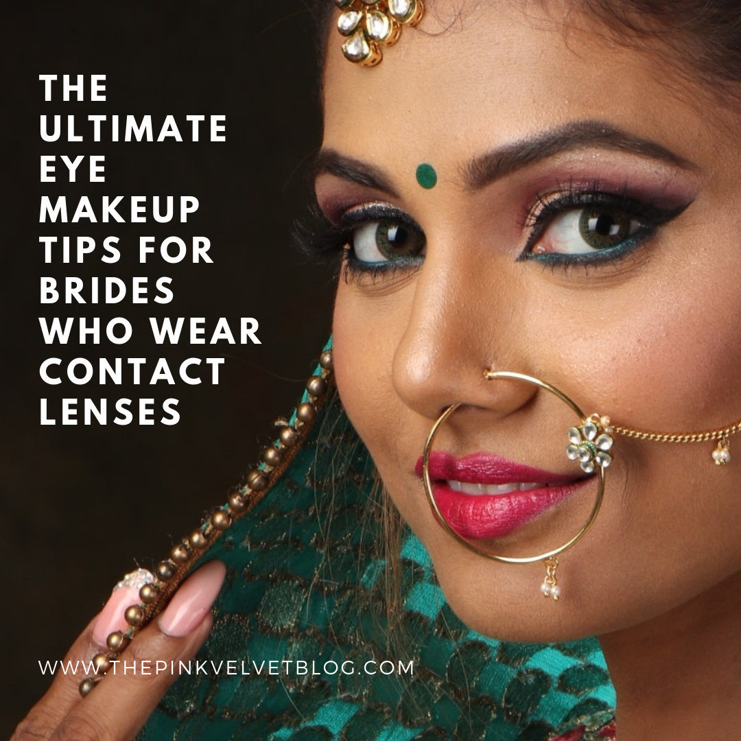 The Ultimate Eye Makeup Tips for Brides Who Wear Contact Lenses