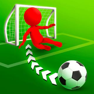 لعبة كرة القدم هدف رائع مهكرة جاهزة مجانا، التهكير مال غير محدود