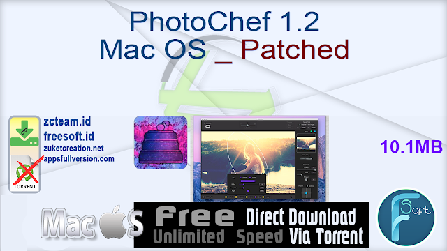 PhotoChef 1.2 Mac OS _ Patched_ ZcTeam.id