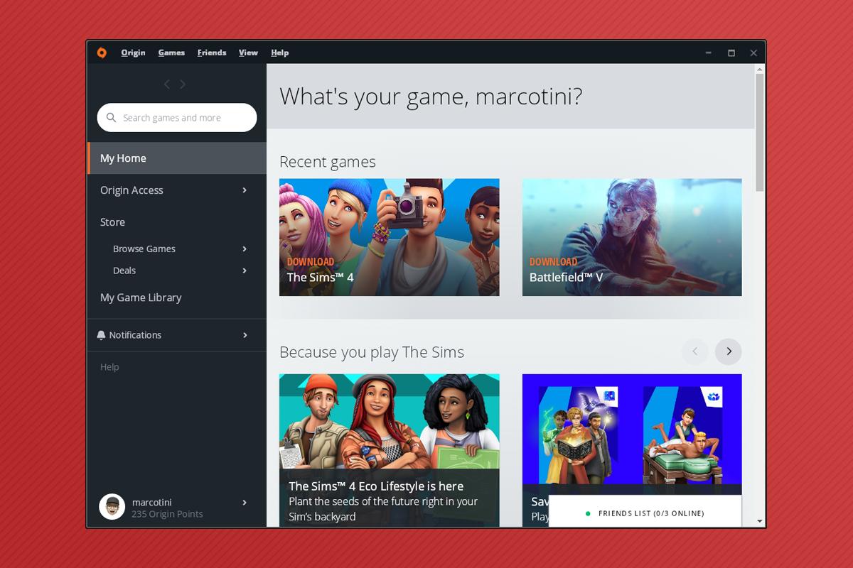 Come installare giochi EA Origin su Linux