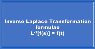 Inverse Laplace transformation   Inverse Laplace transformation formulas