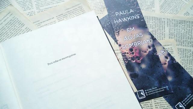 Em Águas Sombrias de Paula Hawkins