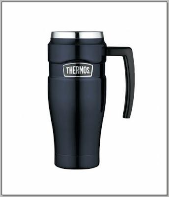Spill Proof Coffee Mug With Handle