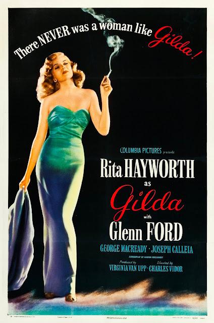 Póster película Gilda - 1946