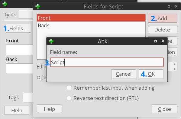 Random Question Generator on Anki using JavaScript