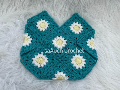 crochet granny square bag free
