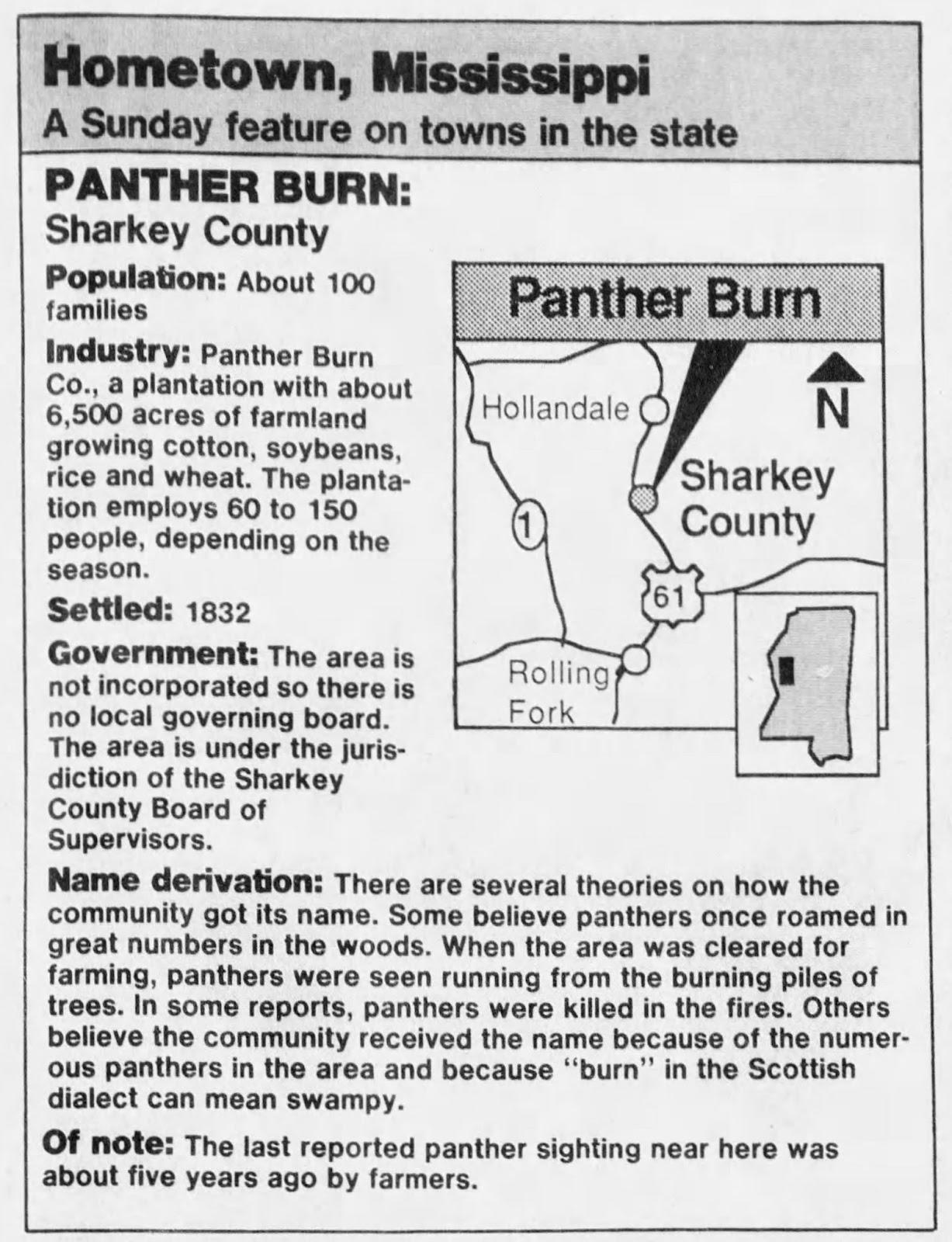 Mississippi washington county hollandale -  Jackson Ms Clarion Ledger Nov 1 1987