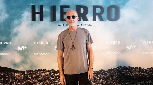 Dario Grandinetti en la presentación del rodaje de la 2ª temporada de 'Hierro' de Movistar+