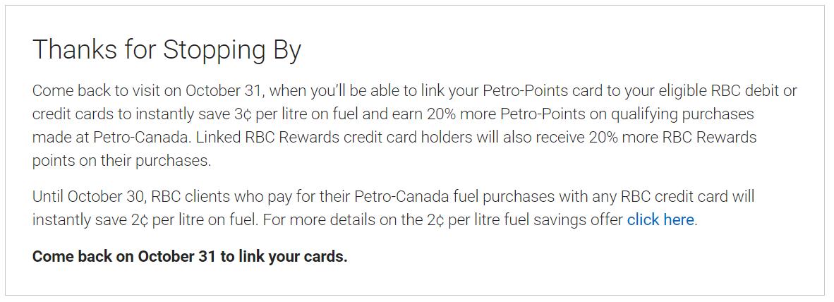 加国理财: RBC和Petro-Points的深入合作