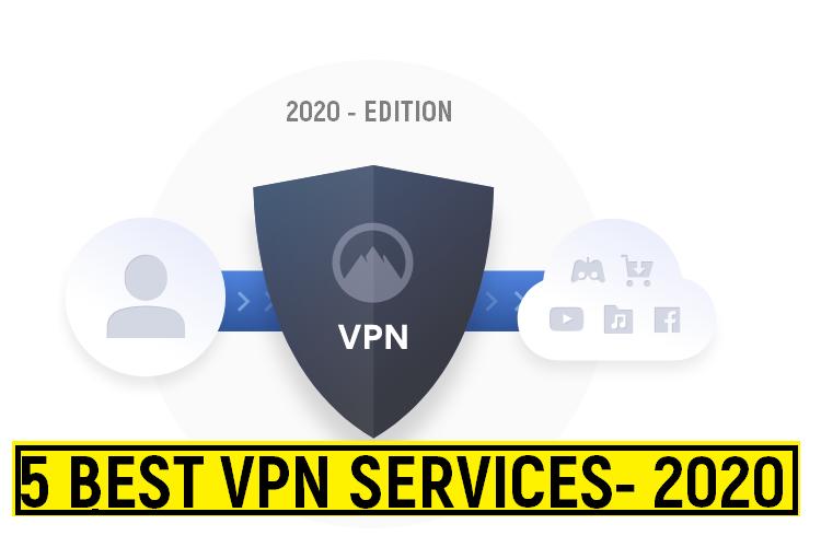 5 Best VPN Services for 2020