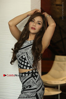 Telugu Actress Angela Krislinzki Latest Pos in Short Dress  0062.JPG