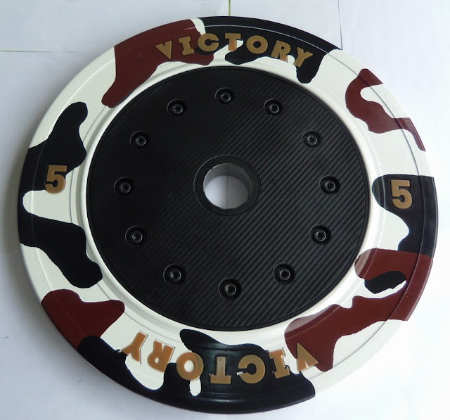 Victory's 5-kilogram bumper plate | Taiwan Excellence