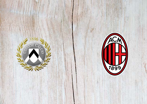 Udinese vs Milan -Highlights 25 August 2019