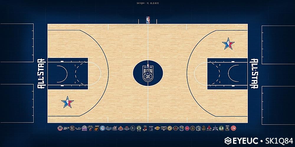 NBA 2K21 All Star Court By SK1Q84 , xzqiq6y [FOR 2K21 ...  Nba 2k14 Graphics Comparison