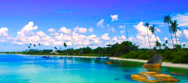 Gambar Pantai Tanjung Kelayang Di Bangka Belitung