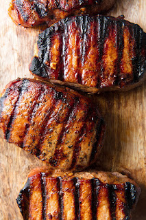 Honey Soy Grilled Pork Chops