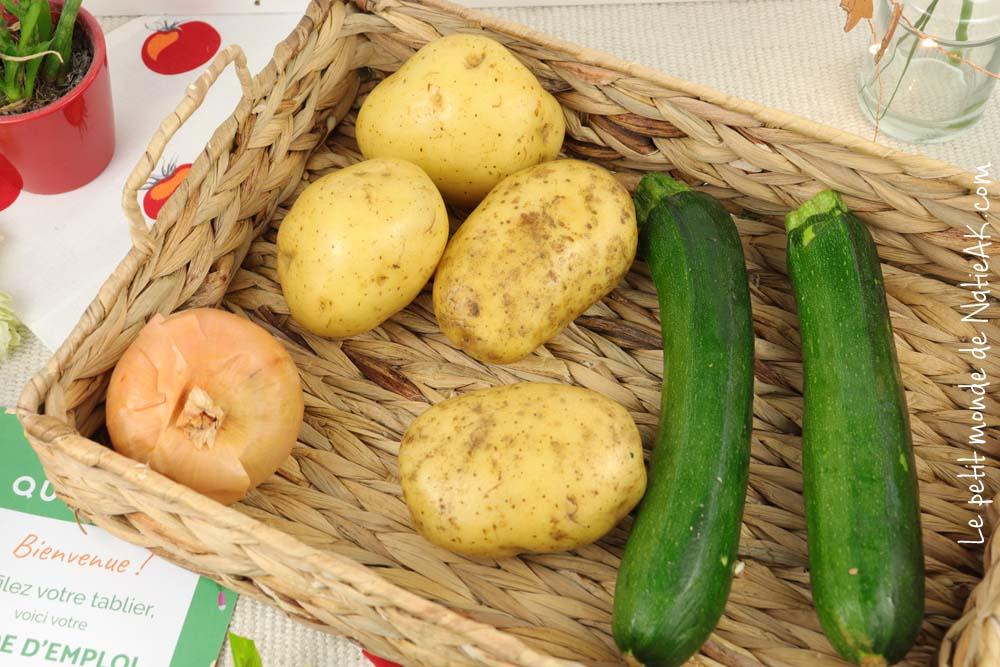 Quitoque ingrédients de saison