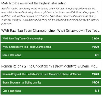 WWE Extreme Rules 2019 Observer Betting: Head-to-Heads