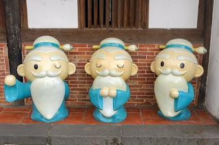 儒教 孔子人形