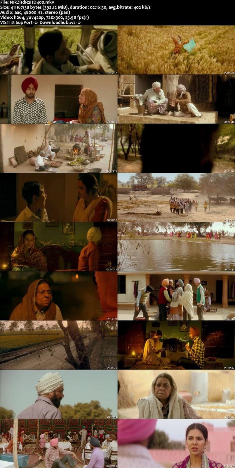 Nikka Zaildar 2 2017 Punjabi 480p HDRip