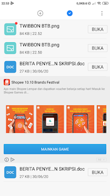 File twibbon sudah terdownload