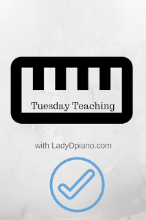 Tuesday Teaching: LadyDpiano