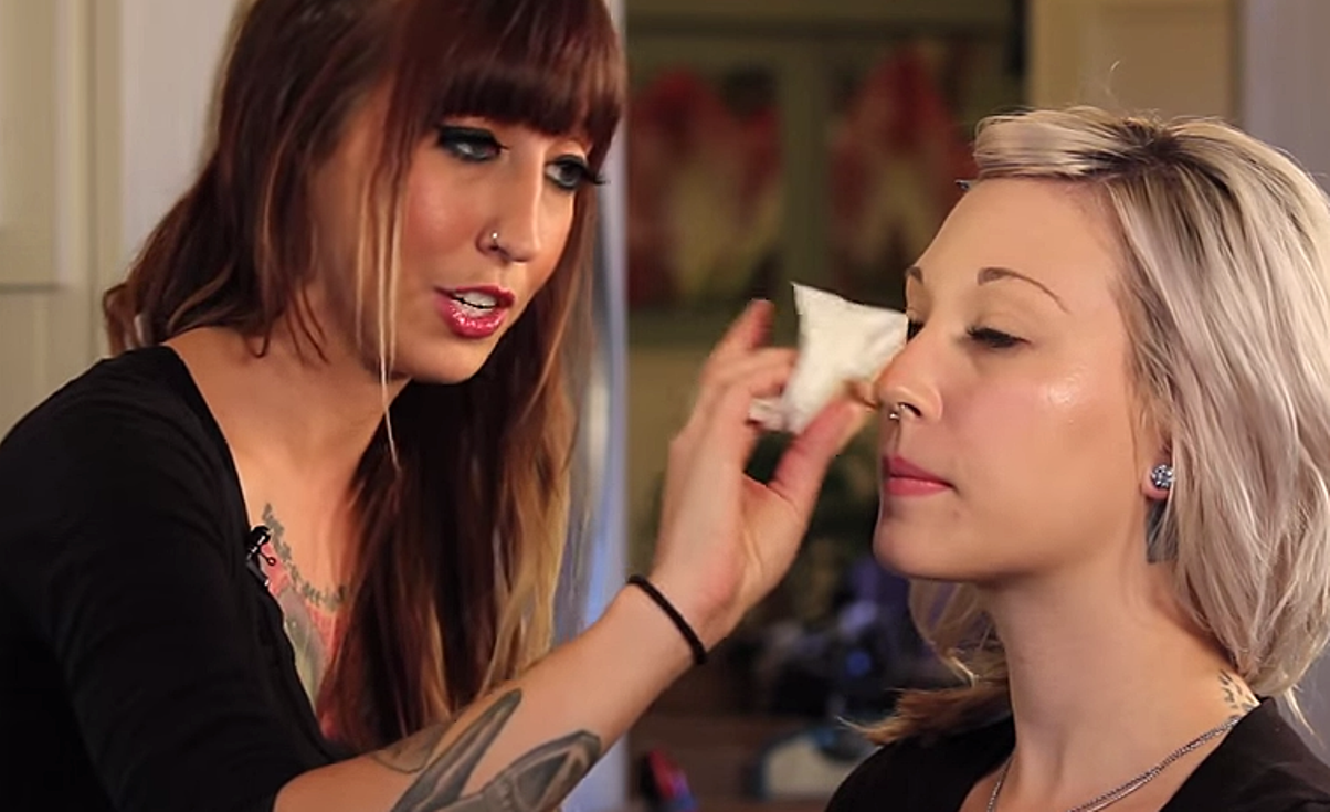 olive oil makeup remover
