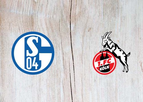 Schalke 04 vs Köln -Highlights 5 October 2019