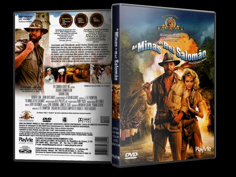 Capa DVD As Minas do Rei Salomão(Oficial)