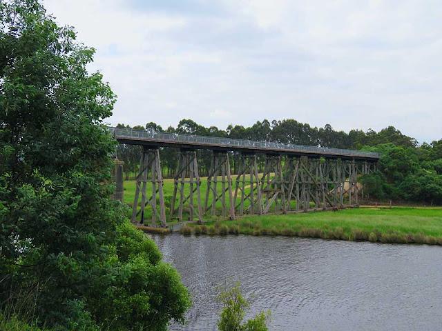 East Gippsland Rail Trail bridge